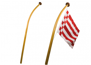 Curved Flag Poles