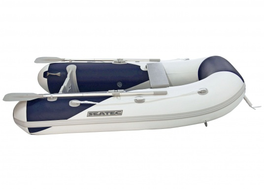 Las embarcaciones neumáticasYACHTING de SEATEC no solo son adecuadas como embarcaciones auxiliares para yates pequeños, sino que también son muy recomendables para excursiones y viajes de pesca.  (Imagen 2 de 7)