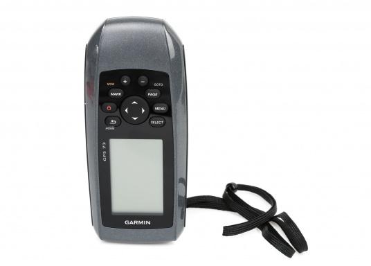 El GPS 73 es un GPS portátil dealta sensibilidad que detecta rápidamente las señales de satélite y determina su posición incluso en las condiciones más difíciles.  (Imagen 7 de 9)